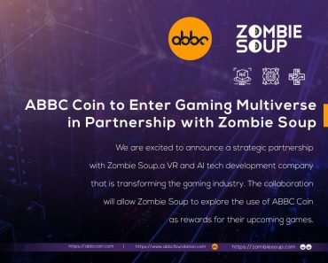ABBC Coin to Enter Gaming Multiverse in Partnership with Zombie Soup